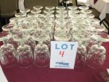 Lot 4 - LOT INCLUDING: 35 WATER GLASSES