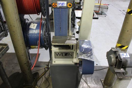 Wilton 4210 Vertical Belt Sander With Extra Sanding Belts S N 4040180