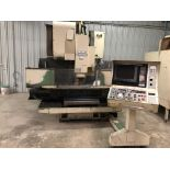 "Mori Seiki MV 35/40 CNC Mill, Fanuc 11M control w/ LCD screen CAT 40 spindle, 20 POS ATC, 30""x X"