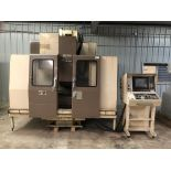 "Mori Seiki MV 40B CNC Mill, Fanuc 11M control w/ LCD screen CAT 40 spindle, 20 POS ATC, 31.5""x X"