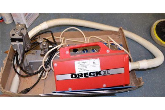 oreck xl vacuum amp hermes engravomatic