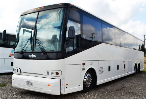 Lot 3 - 2004 Van Hool Commuter Bus # 557