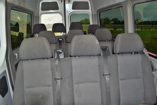 Lot 3 - 2011 Mercedes Benz Sprinter 2500 Bluetech Bus - DOES NOT RUN/KNOCKING ENGINE