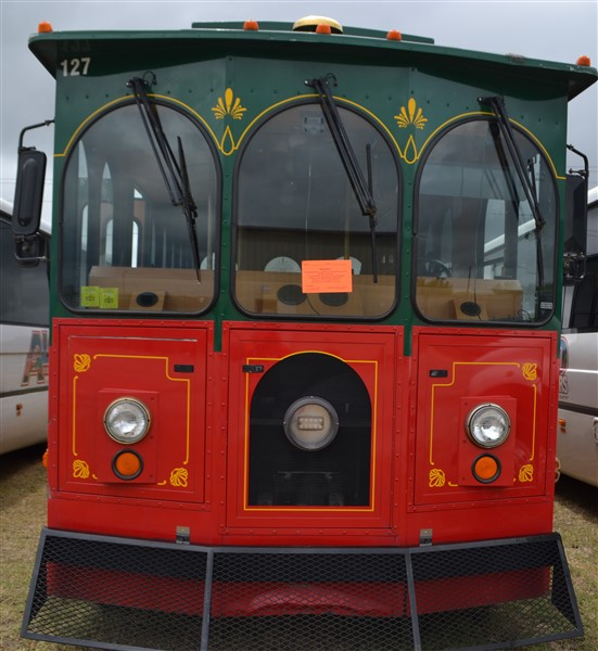 Lot 7 - 2011 Ford Supreme Trolley Car #127