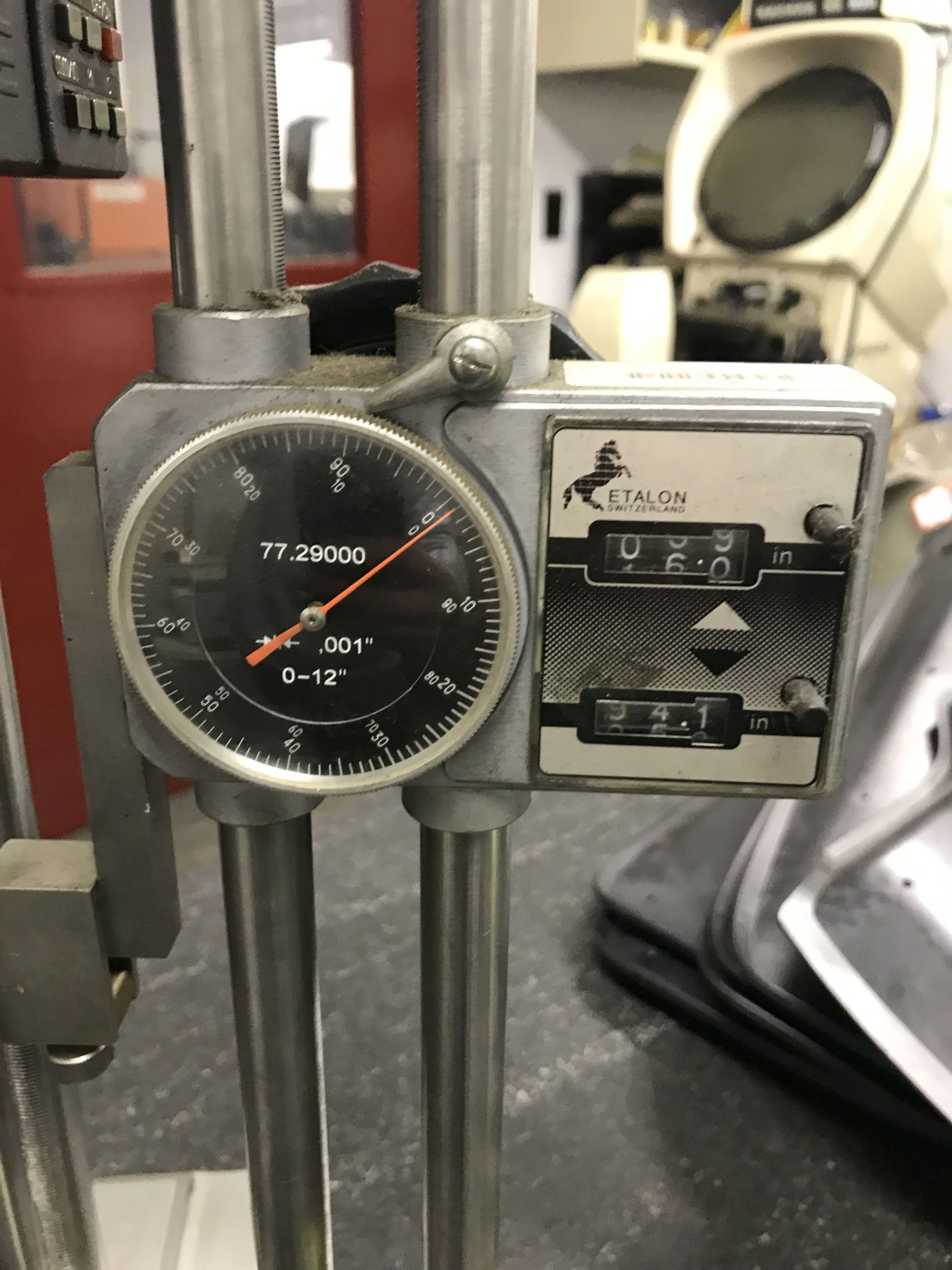 Lot 56 - PIPE GAUGE, WITH DIGITAL READ OUT [LOCATION: BUILDING 2]