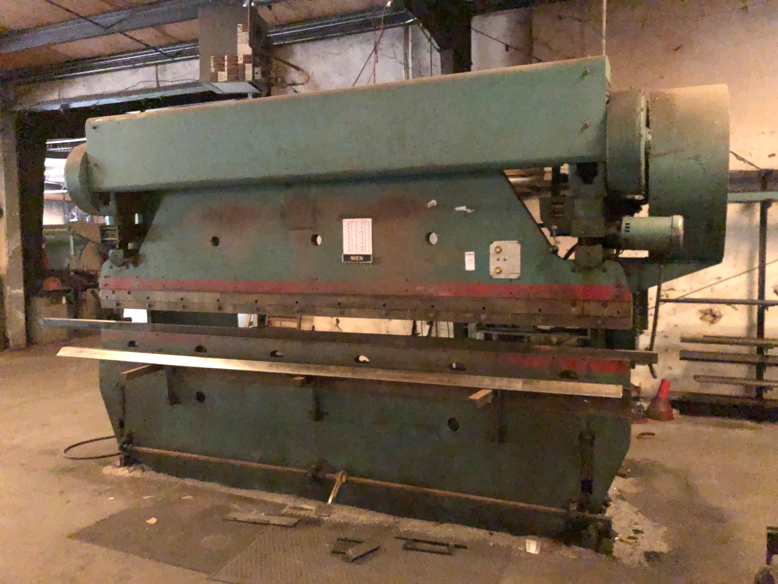 ABSOLUTE AUCTION -  HARRY O HIGH SHEET METAL WORKS LIQUIDATION