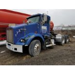 2006 KENWORTH T800 T/A TRUCK TRACTOR, DAY CAB, VIN 1XKDD49X36J126857, 205,613 MILES, EATON FULLER