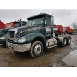 2007 FREIGHTLINER COLUMBIA CL120 T/A TRUCK TRACTOR, DAY CAB, VIN 1FUJA6CV27LZ20130, 635,386 MILES,