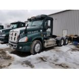 2016 FREIGHTLINER CASCADIA T/A TRUCK TRACTOR, DAY CAB, VIN 3AKJGED59GSHA5256, 172,034 MILES, EATON