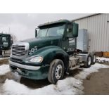 2016 FREIGHTLINER COLUMBIA CL120 T/A TRUCK TRACTOR, DAY CAB, VIN 3ALXA7CV7GDHN6851, DTNA GLIDER KIT,