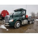 2015 FREIGHTLINER CASCADIA T/A TRUCK TRACTOR, DAY CAB, VIN 3AKJGED51FSGM1605, 265,925 MILES, EATON