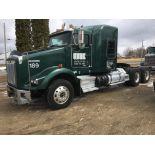 2011 KENWORTH T800 T/A TRUCK TRACTOR, SLEEPER CAB, VIN 1XKDD49X0BJ290724, 613,457 MILES, EATON