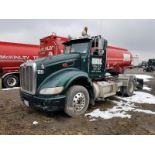 2008 PETERBILT 386 T/A TRUCK TRACTOR, DAY CAB, VIN 1XPHD49X88D767774, EATON 13-SPEED TRANSMISSION,
