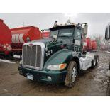 2011 PETERBILT 386 T/A TRUCK TRACTOR, DAY CAB, VIN 1XPHD49X7BD126218, 429,800 MILES, EATON 13-