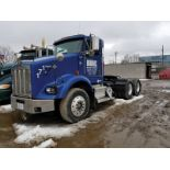 2006 KENWORTH T800 T/A TRUCK TRACTOR, DAY CAB, VIN 1XKDD49X86J126854, 468,550 MILES, EATON 10-