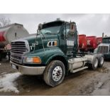 2009 STERLING LC GLIDER T/A TRUCK TRACTOR, DAY CAB, VIN 2FZXCNCK09AAH2576, 163,600 MILES, EATON