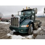 2010 PETERBILT 386 T/A TRUCK TRACTOR, DAY CAB, VIN 1XPHD49X0AD793744, 614,721 MILES, EATON 13-