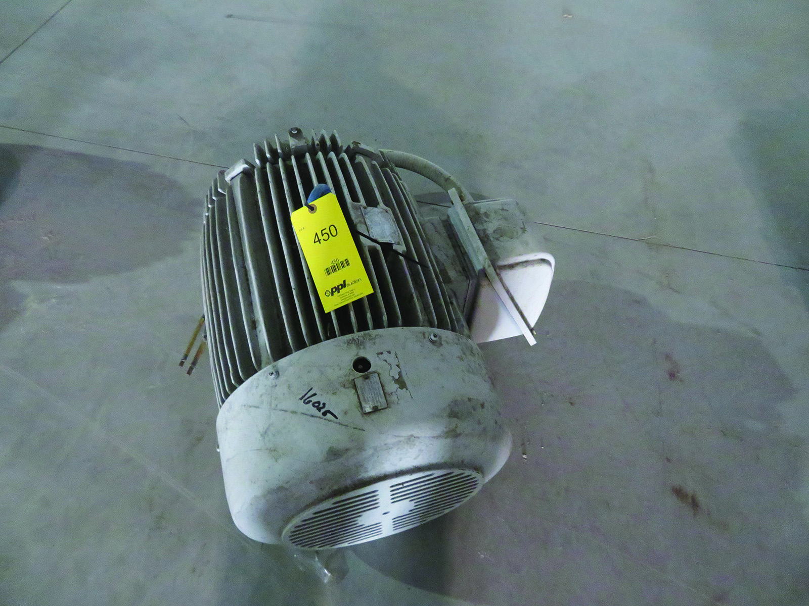 Group of lots 449 450 451 75 hp electric motor for 450 hp electric motor