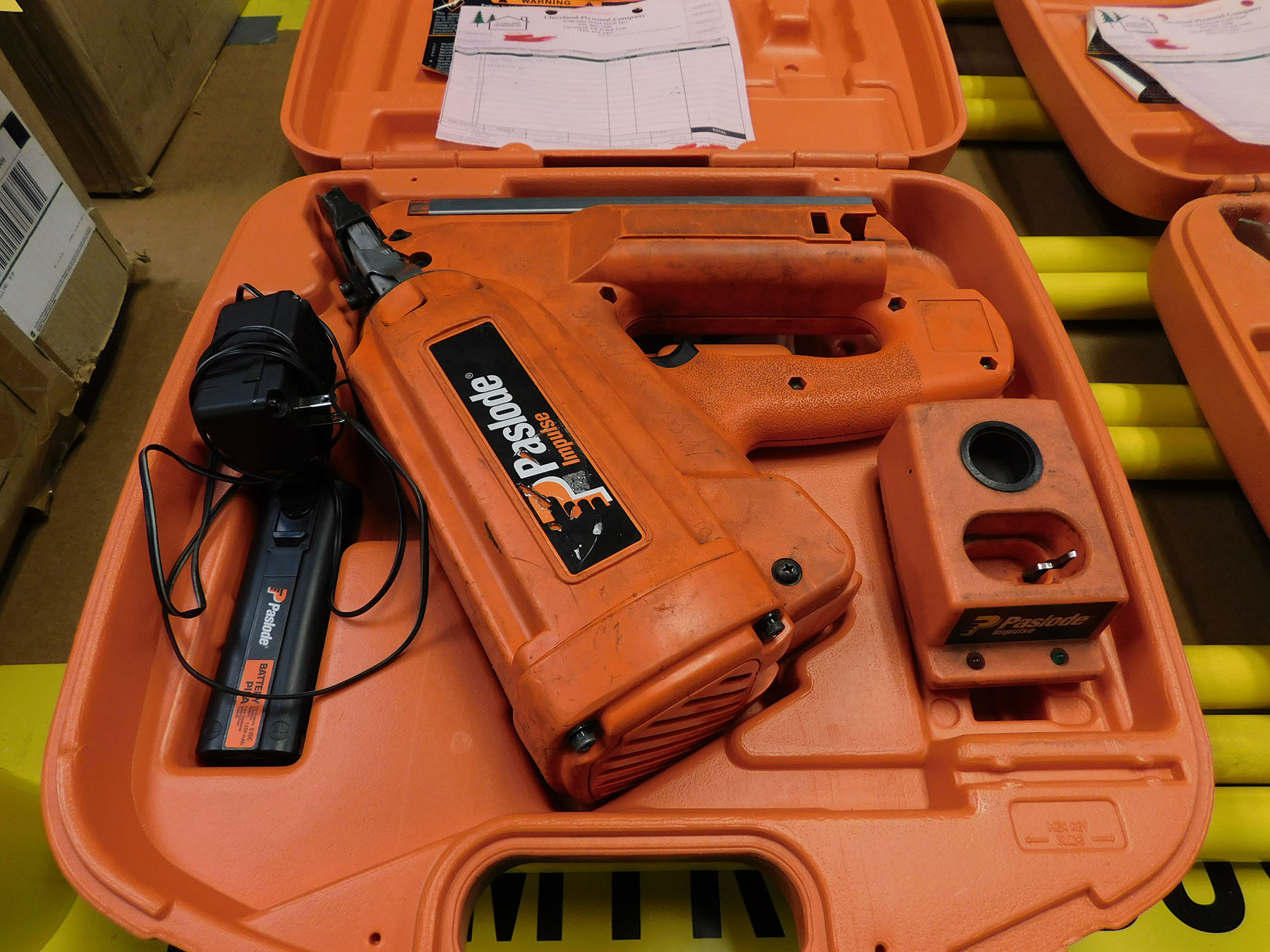 Lot 55B - PASLODE IMPULSE CORDLESS FRAMING NAIL GUN