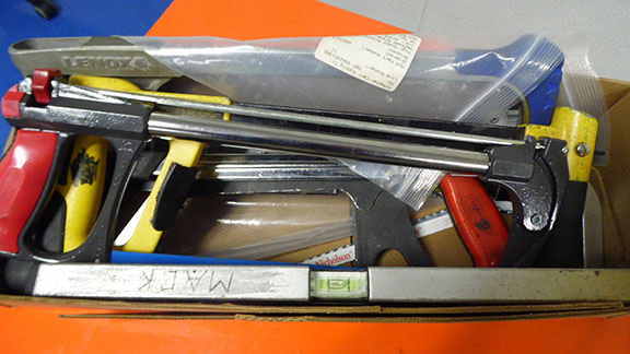 Lot 28 - LOT OF (4) HACK SAWS