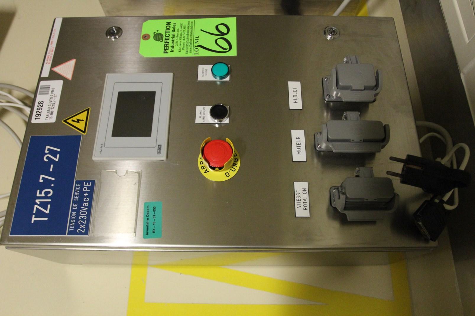 Lot 66 - Siabt UniOp PLC Control for Vessel