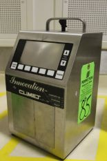 Lot 85 - 2009 Climet Innovation CI 500A Portable Laser Particle Counter, s/n 044788, Particle Sizes from .3mm