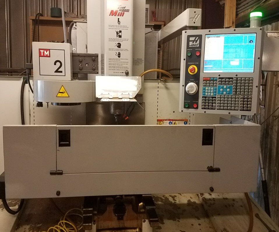 HAAS TM2 TOOL ROOM MILL VERTICAL MACHINING CENTER, New In