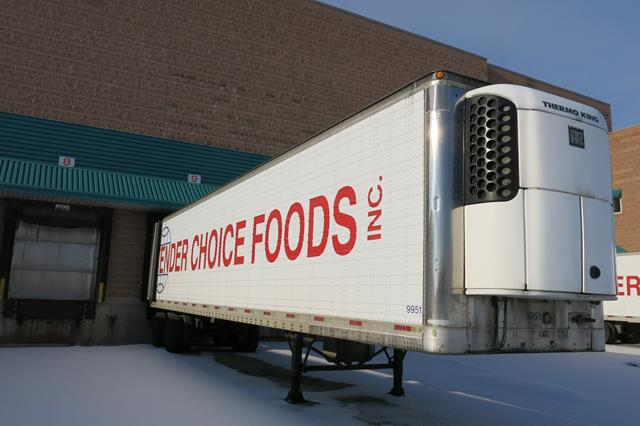 Lot 44 - TRAILMOBILE, 53' REFRIGERATED VAN TRAILER, BARN DOORS, THERMO KING, SB-210, REEFER, 16,856 HOURS,