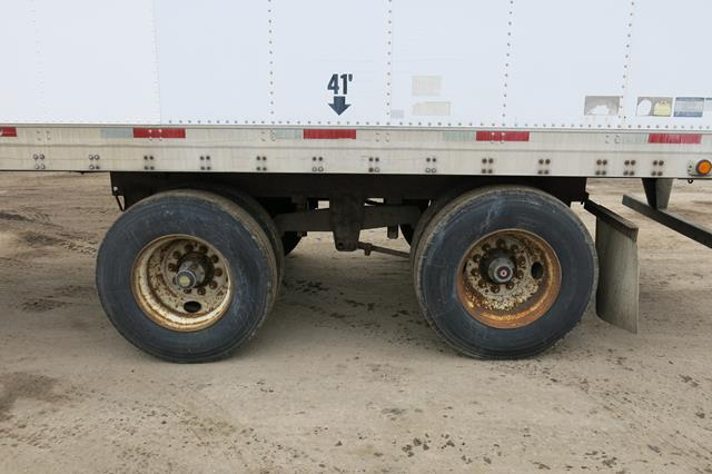 Lot 49 - TRAILMOBILE, 53' REFRIGERATED VAN TRAILER, BARN DOORS, THERMO KING, SB-210, REEFER, 14,515 HOURS