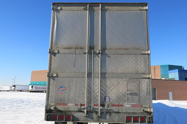 Lot 31 - UTILITY, 3000R, 53' REFRIGERATED VAN TRAILER, BARN DOORS, THERMO KING, SB-210, REEFER, 14,670 HOURS,