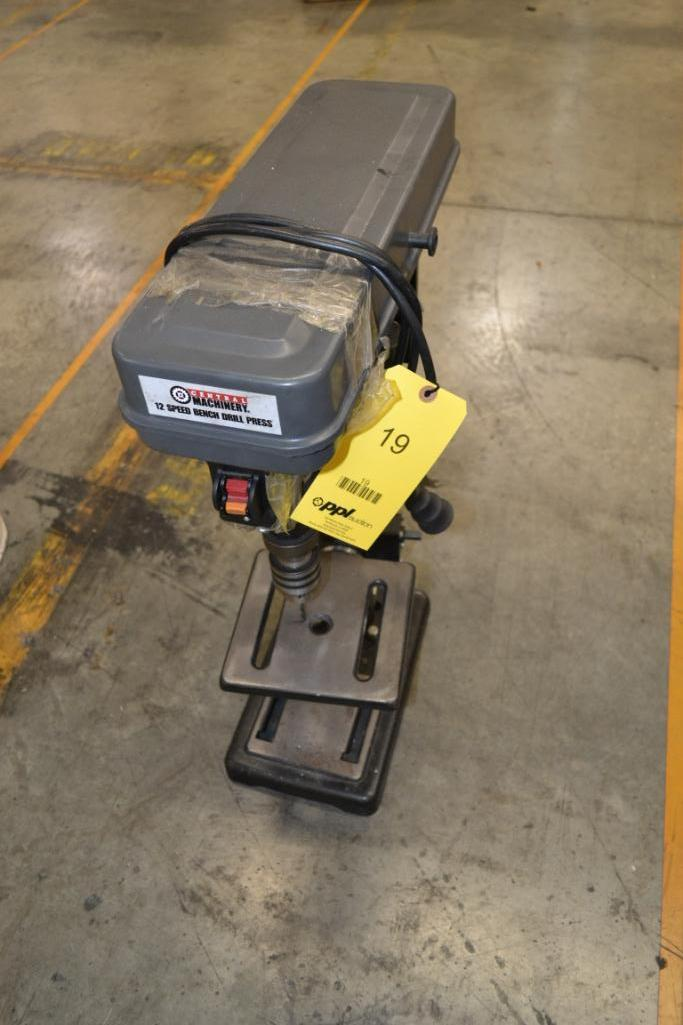 Lot 19 - Central Machinery 10 in. Bench Top Drill Press