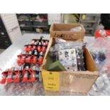 LOT: Hydraulic Remote Control Boxes & Couplers