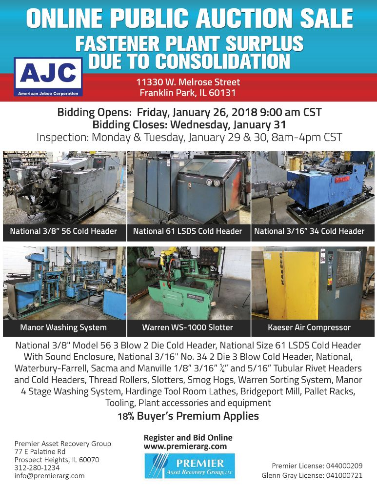 "CNC Online Consignment Sale – ""Over 50 CNC Machines"""