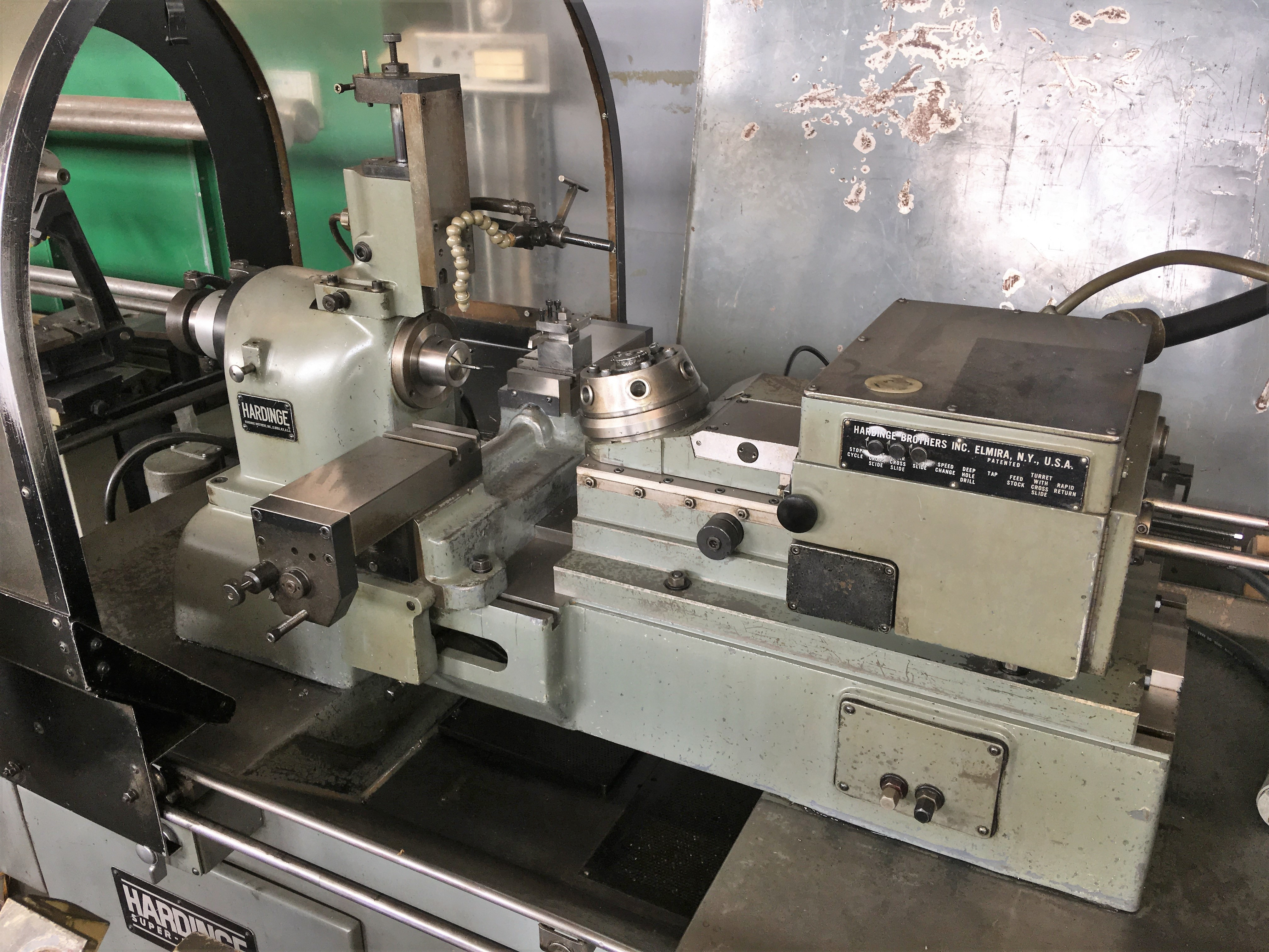 Lot 13 - Hardinge Model DSM-A Automatic Screw Machine
