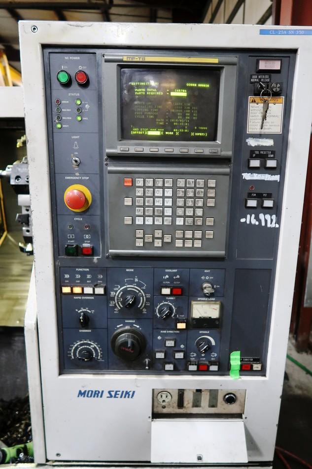 Lot 20 - Mori Seiki CL-25A CNC Turning Center lathe, S/N 0350