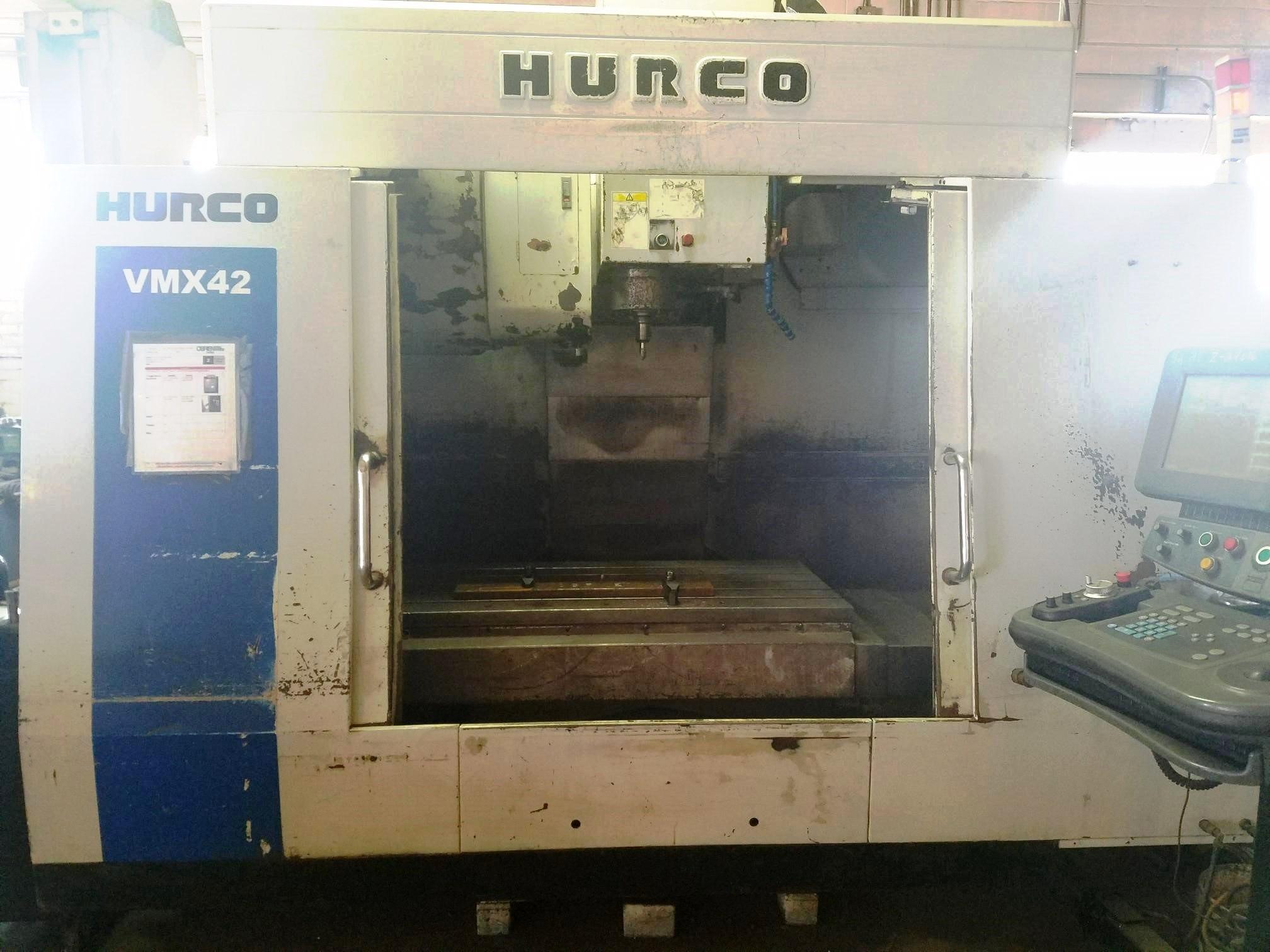 Lot 18 - Hurco VMX 42 CNC 3-Axis Vertical Machining Center, S/N V442-06023116EHA, New 2006