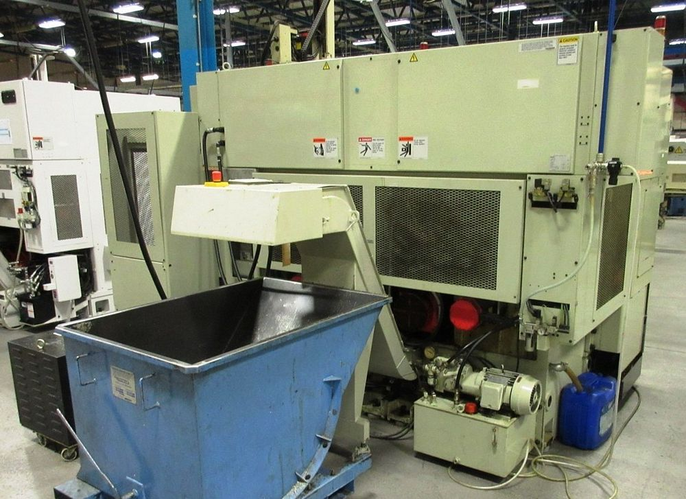 Lot 17 - Takisawa TT-200-G CNC Twin Spindle Turning Center, S/N TNRS1127, New 2004