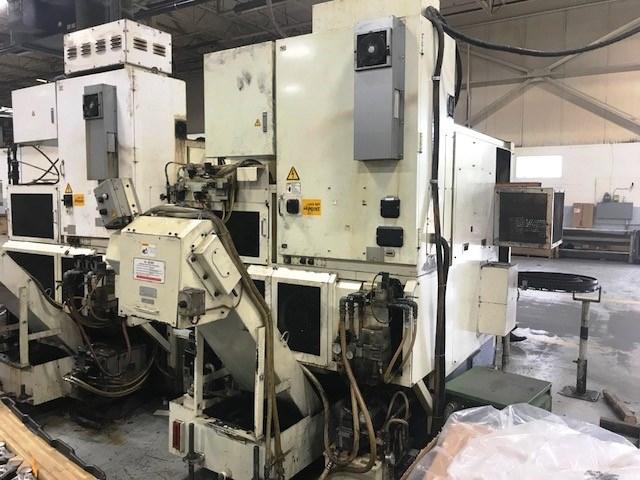 Lot 16 - Fuji Model HM-30T 4-Axis (XYZC) CNC Turning Center lathe, S/N 16421