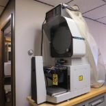 DELTRONIC DH214 OPTICAL COMPARATOR W/ MPC-4 METROLOGY READOUT