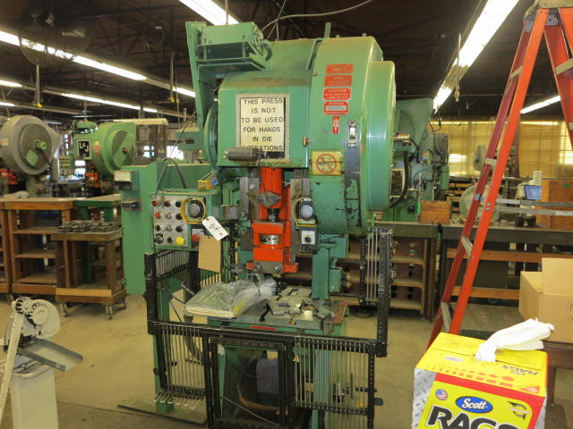 OBI Power Presses, Spring Winders, Tool-room Equipment, 4 Slide Machines, Re purposing Items of (2) Metal Stamping Firms