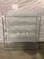 Lot 24 - 5 Tier Metro Rack with side guards - no wheels