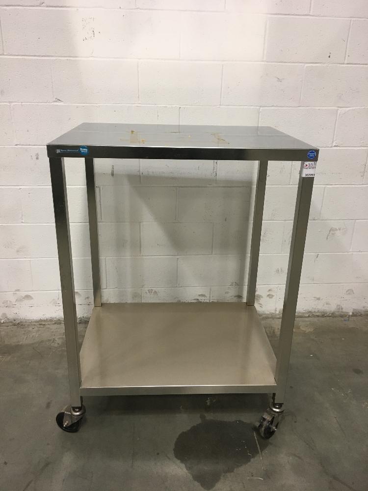 Lot 54 - Terra Universal 3' Stainless Steel Cart