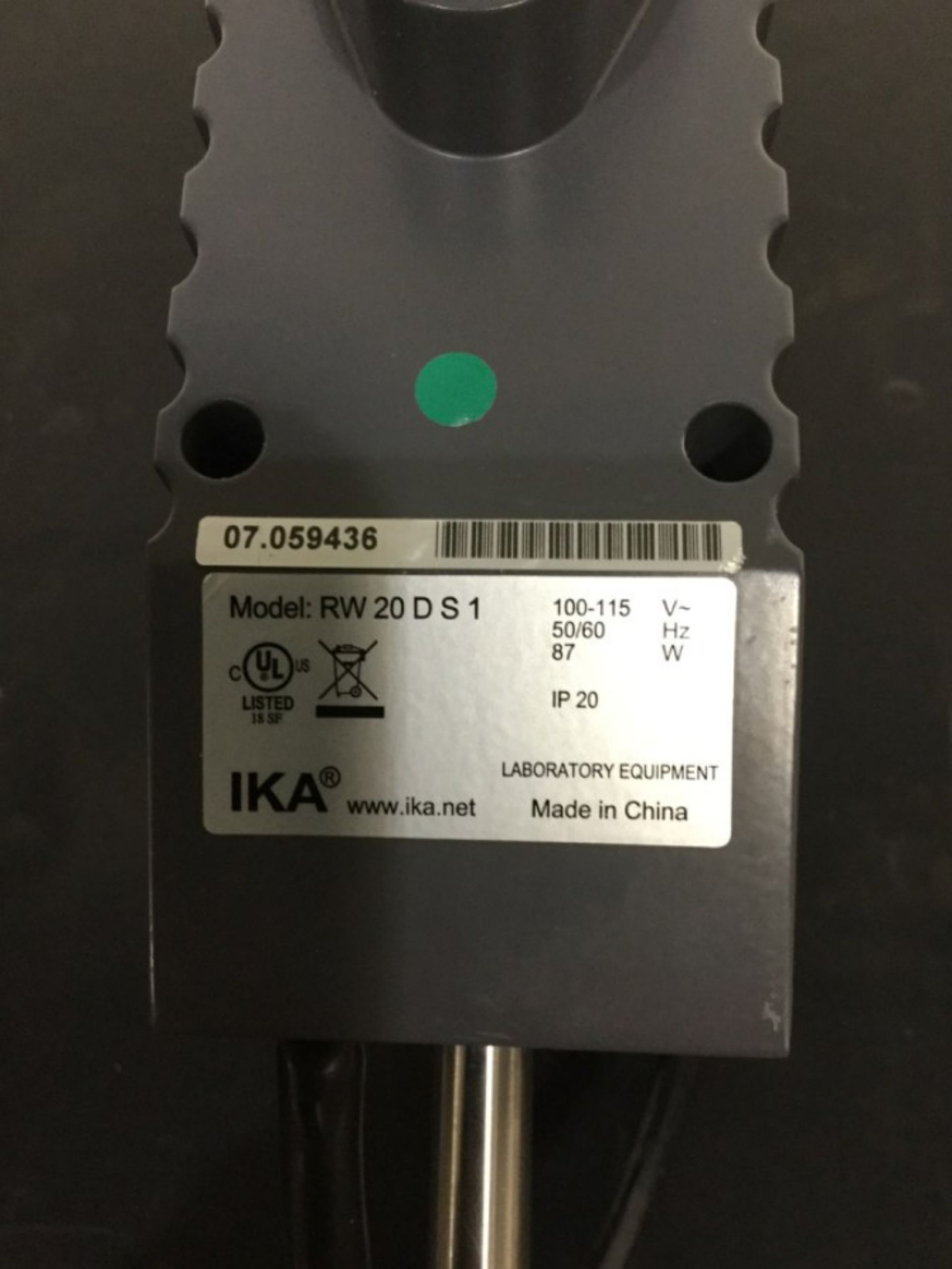 Lot 58 - Ika RV 20 Digital Overhead Mixer