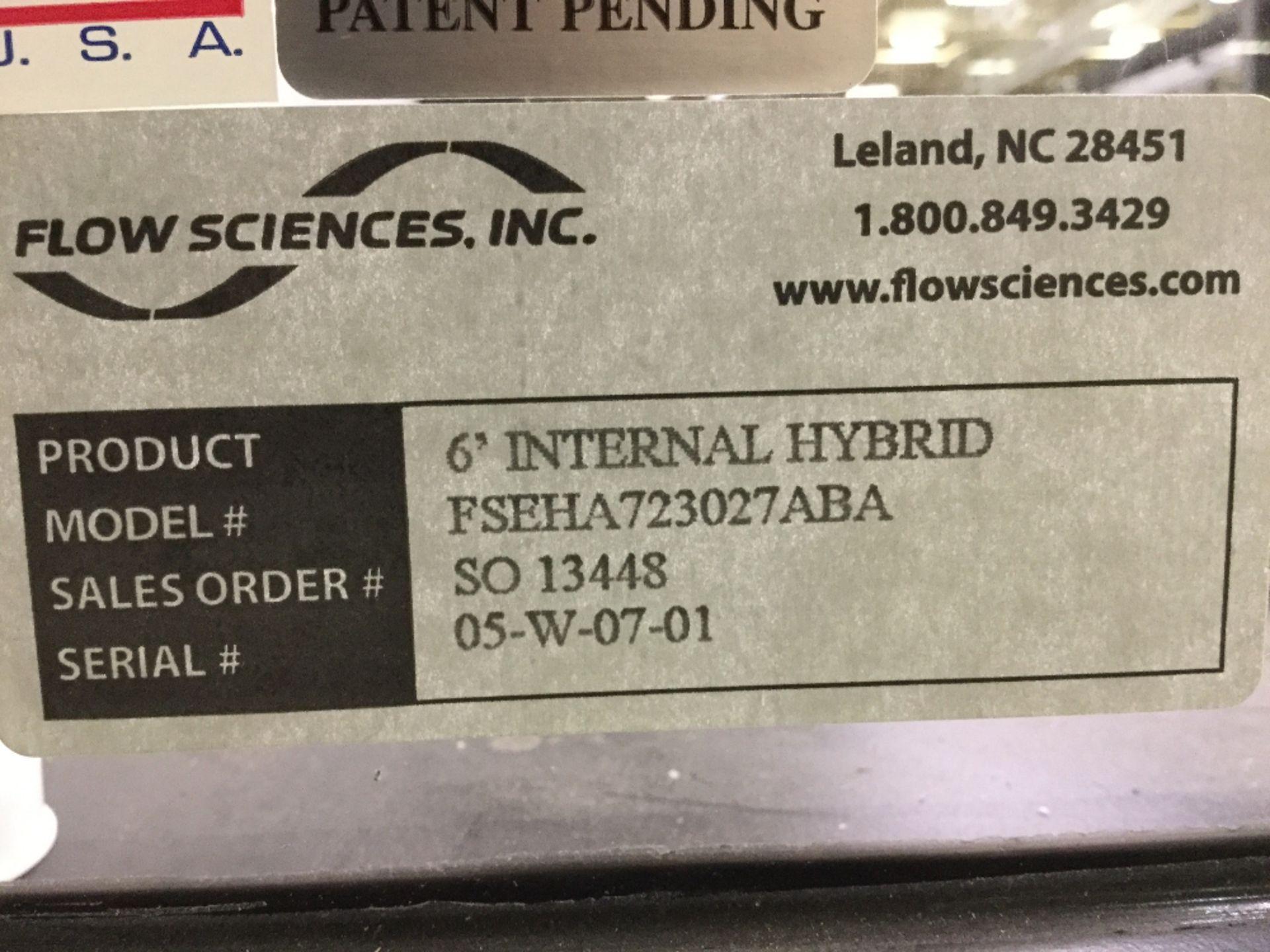 Lot 18 - Flow Sciences 6' Internal Hybrid Isolator