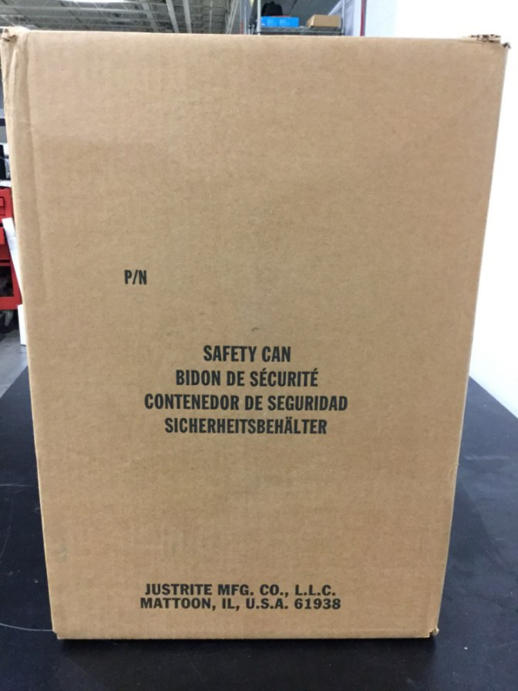 Lot 53 - Lot of Justrite Manufacturing 5.0 Gallon Safety Disposal Cans