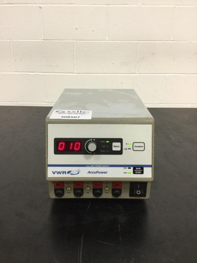 Lot 20 - VWR AccuPower Electrophoresis Power Supply