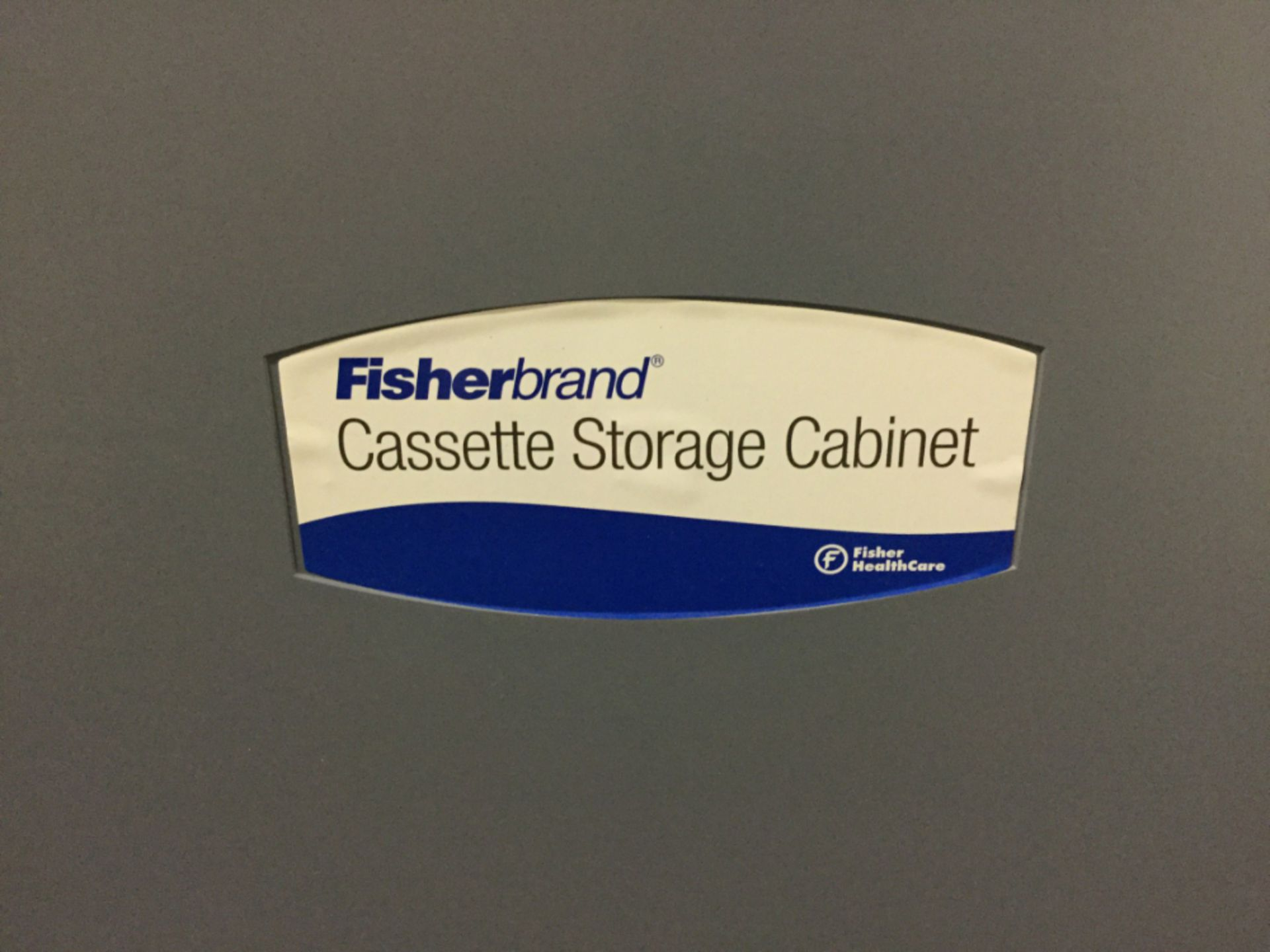 Lot 7 - Lot of (2) Fisher Brand Cassette Storage Cabinets