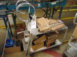 Lot 24 - Aluminum Inventory Transport Cart (No Contents)