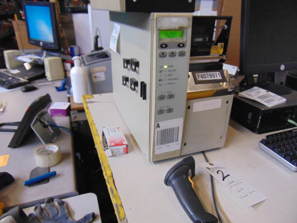 Lot 2 - (Lot) Zebra mod. 110xi III Plus Labeler w/ Symbol