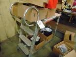 Lot 22 - Aluminum Inventory Transport Cart (No Contents)